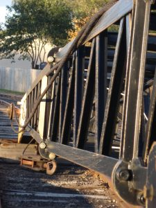 Railroad equipment, Mary Warner, 2014.