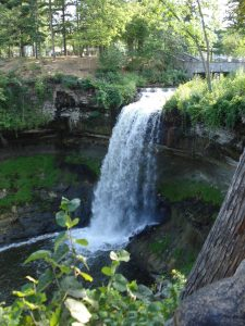 Minnehaha Falls, Mary Warner, 2007.