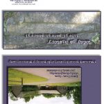 Membership service brochure (exterior), Morrison County Historical Society, designed by Mary Warner, 2014.