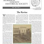 Morrison County Historical Society newsletter, Vol. 27, No. 3, 2014, page 1, designed by Mary Warner.