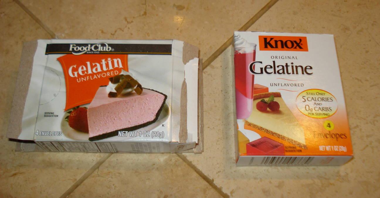Gelatin Versus Gelatine