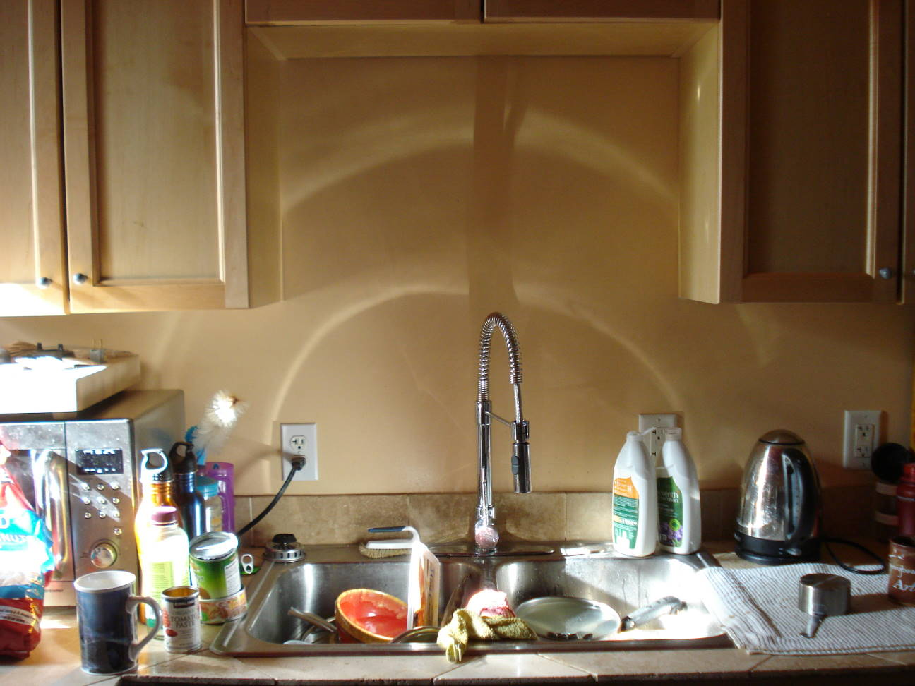 The Heavenly Glow of the Kitchen Sink