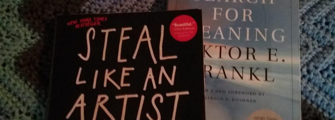 Reading: Austin Kleon & Viktor Frankl