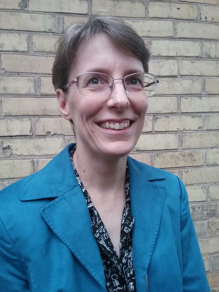 Mary E. Warner, 2018.