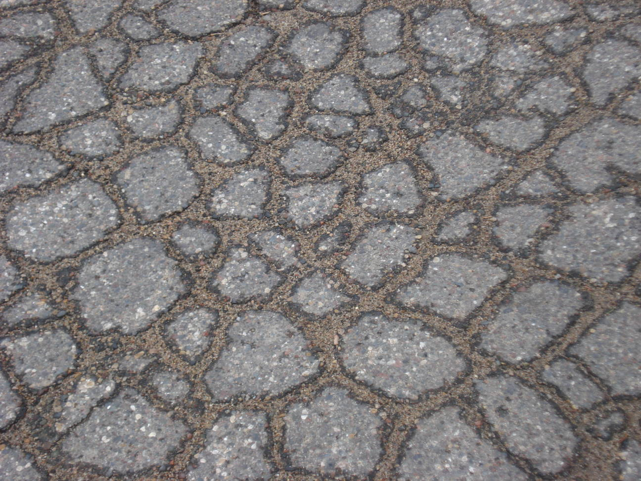Broken pavement, Mary Warner, 2013.