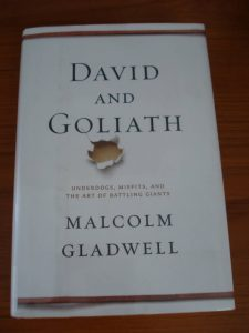 """David and Goliath"" by Malcolm Gladwell"