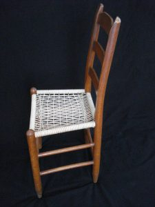 Ladder-back chair