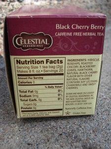 Celestial Seasonings Black Cherry Berry Tea