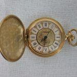 Gold pocket watch from my Grandma Bea, 2018.