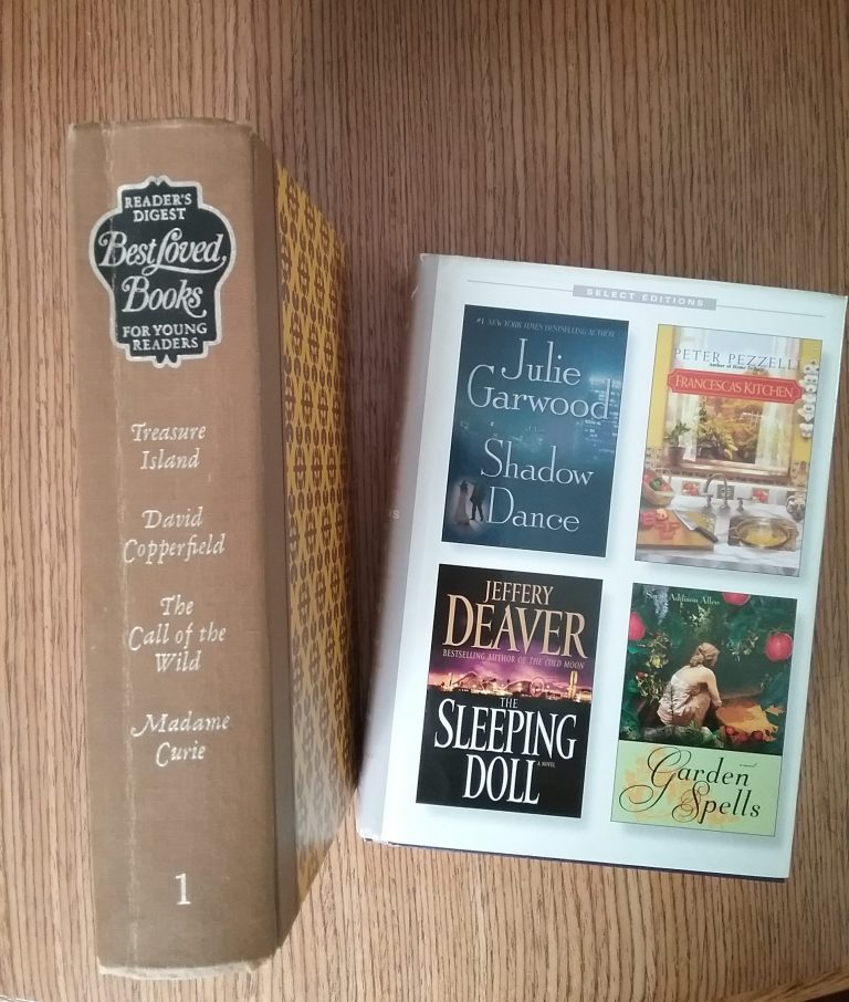 Reader's Digest Best Loved Books for Young Readers, Volume 1, 1966/67 and Reader's Digest Select Editions, Volume 293, 2007.