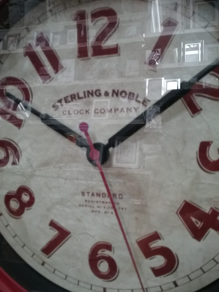 Sterling & Noble Clock Company Standard clock, 2018.