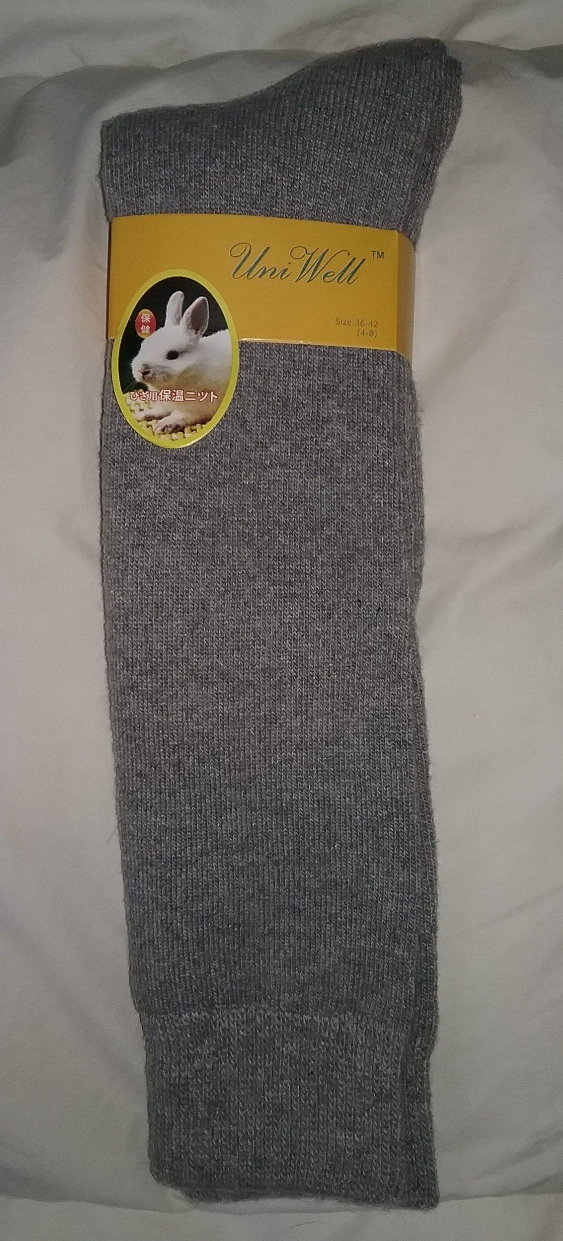 Bunny socks, 2018.