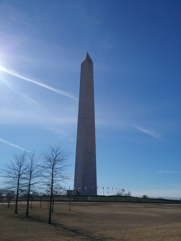 The Washington Monument, 2019.