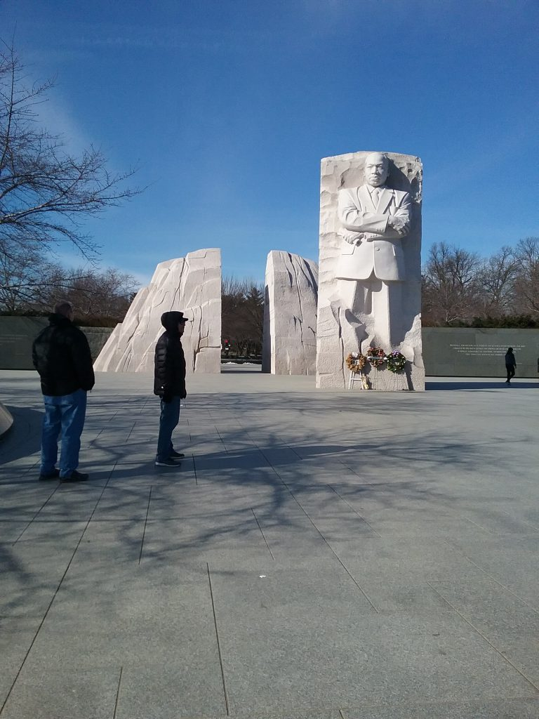 Martin Luther King, Jr. Memorial, 2019.