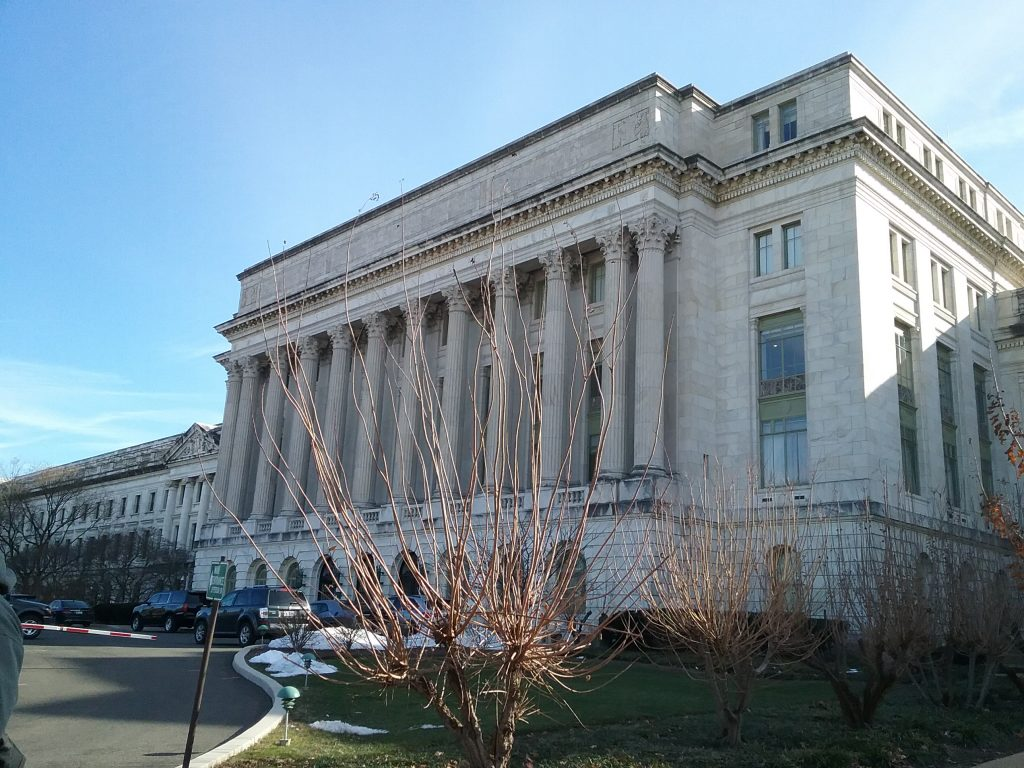 Department of Agriculture, Washington DC, 2019. I love that the Dept of Ag is in a building that is just as monumental as the Dept of Commerce and Supreme Court.