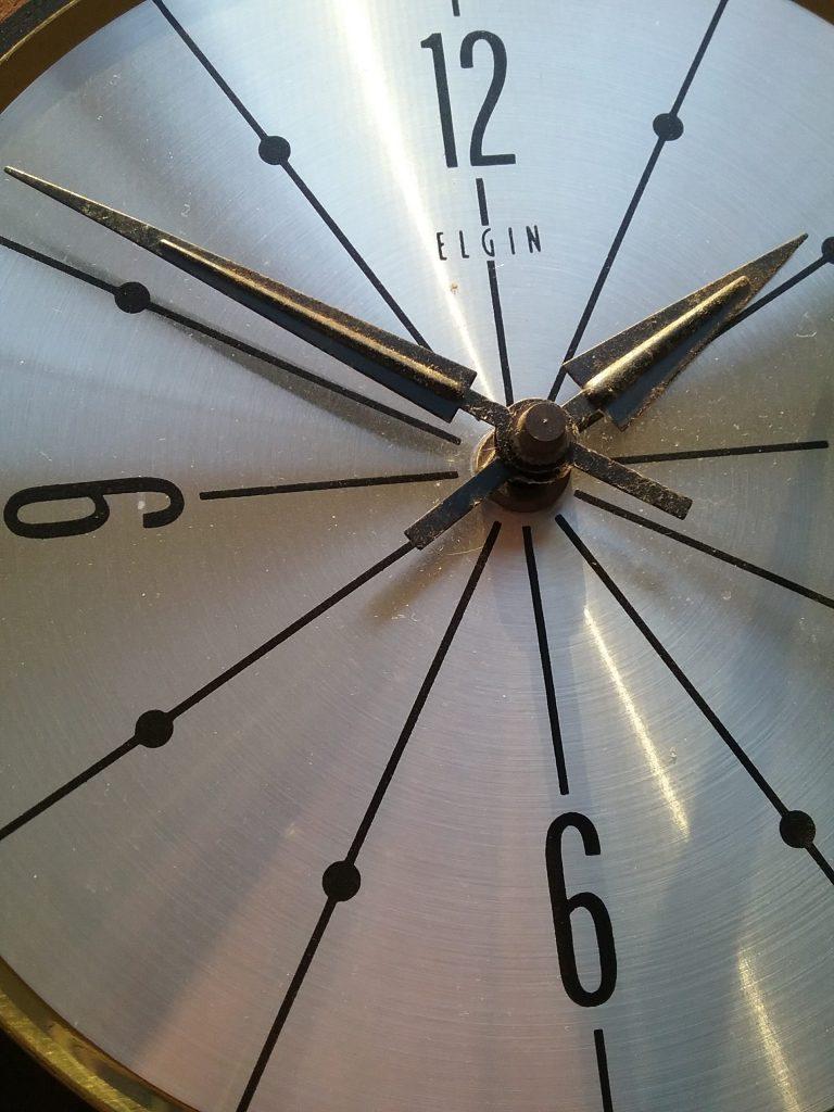 Elgin clock, 2018.