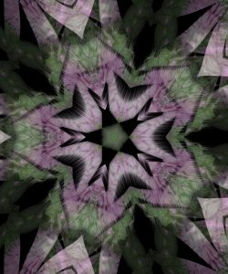 Thistle and screen, iteration 6, July 11, 2020.