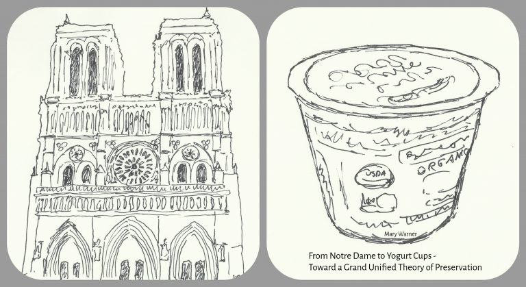 From Notre Dame to Yogurt Cups, Mary Warner, 2020.